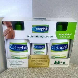 Cetaphil Moisturizing Lotion.